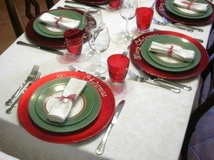 Il vino e l'acqua in tavola secondo galateo
