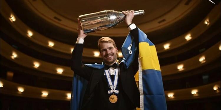 Arvid Rosengren miglior Sommelier del mondo ASI