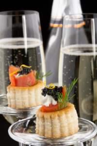 Abbinamento cibo-vino - Salmone e Champagne