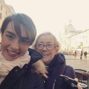 Donatella-e-Violante-Roma-Piazza-Navona