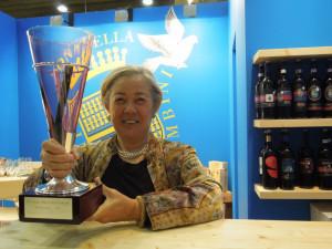 Vinitaly 2012 - Donatella Cinelli Colombini- Premio Internazionale Vinitaly