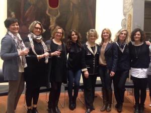 Donne del vino e profumi