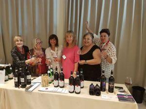 Donne del vino toscane con Debora Serracchiani Governatrice del Friuli Venezia Giulia