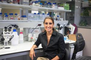 Federica Bertocchini discovered worm that eats plastic