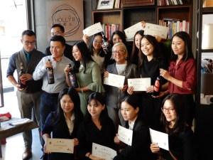 Napoletani in Cina Donguangg Masterclass di Donatella Cinelli Colombini