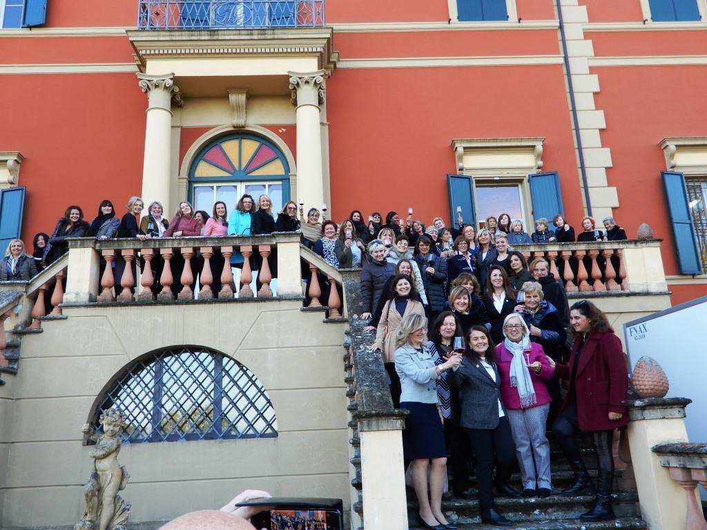 Donne del Vino Bologna Palazzona di Maggio Premio Personaggio dell'anno 2017