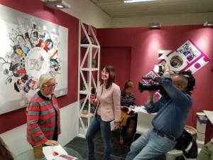 Vinitaly-2018-intervista TG2-con Lucia Buffo