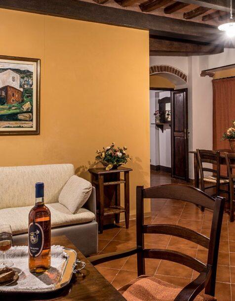 Fattoria del Colle - Farmhouse in Tuscany - Apartment Forno
