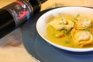 abbinamento-cibo-vino-Ravioli con ripieno di pecorino Leone Rosso (11)