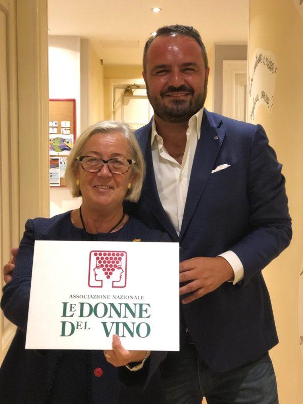 Donne-del-Vino-e-Milano-Wine-Week-Donatella-Cinelli-Colombini-Federico-Gordini