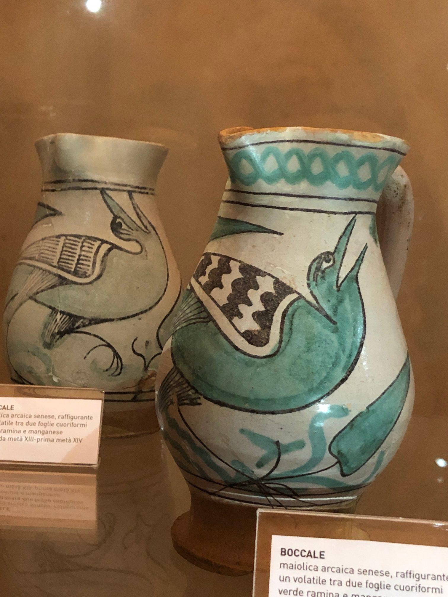 Ceramiche-gotiche-senesi-Siena-santa-Maria-Della-Scala
