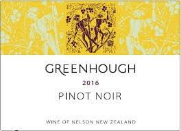 2015 Greenhough Hope Vineyard Pinot Noir, Nelson, New Zealand