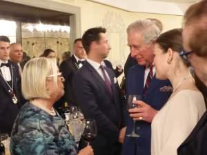 Principe Carlo a Firenze con Donatella Cinelli colombini