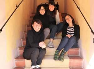 Turismo e covid il team della Fattoria del Colle Sara Alessia Silvia e Carolina