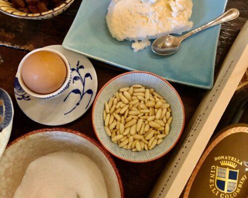 ricotta montata di Montalcino ricetta di Donatella Cinelli Colombini ingredienti