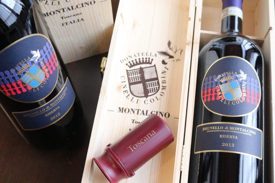 Brunello di Montalcino Riserva 2012 e 2013 Magnum Casato Prime Donne