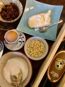 Ricotta Montata of Montalcino recipe by Donatella Cinelli Colombini ingredients