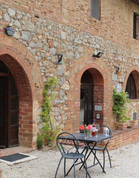Fattoria del Colle - Farmhouse in Tuscany - Apartment San Livio outside