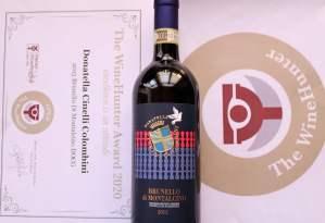 Medaglia oro Brunello 2015