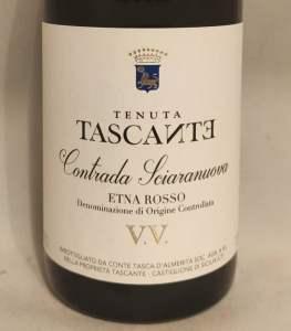 Contrada Sciaranuova V.V. DOC 2016 Tasca d'Almerita - Nuova geografia del vino - TOP 100 Wine Discoveries - Robert Parker