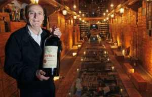 Michel-Jack Chasseuil e il Louvre del Vino