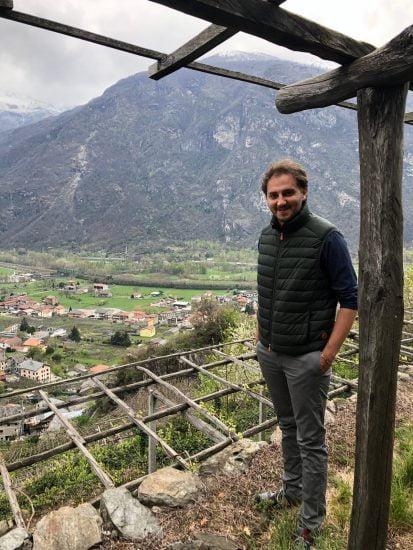 Gian Marco Viano viticultore eroico di Carema