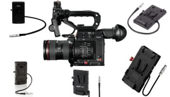 Canon C300 Mark II, Available Now with the C200 Touchscreen