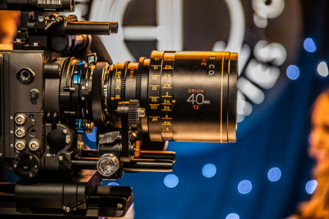 Atlas Lens Co  New Orion 25mm T/2 0 Anamorphic Lens and LF Extender