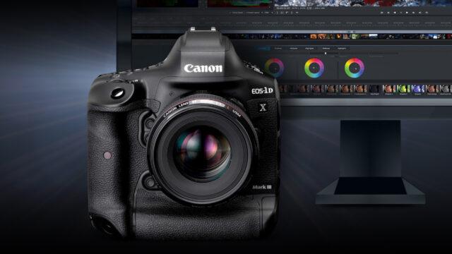 Canon 1DX Mark III white paper