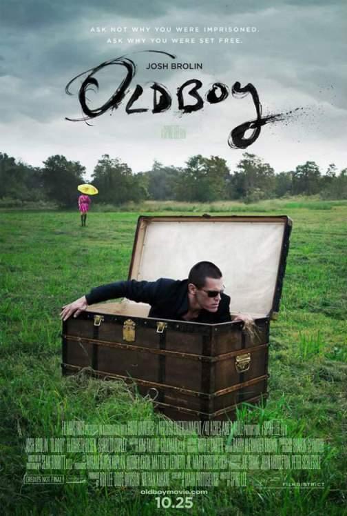 """Oldboy"" (2013) - poster 1"