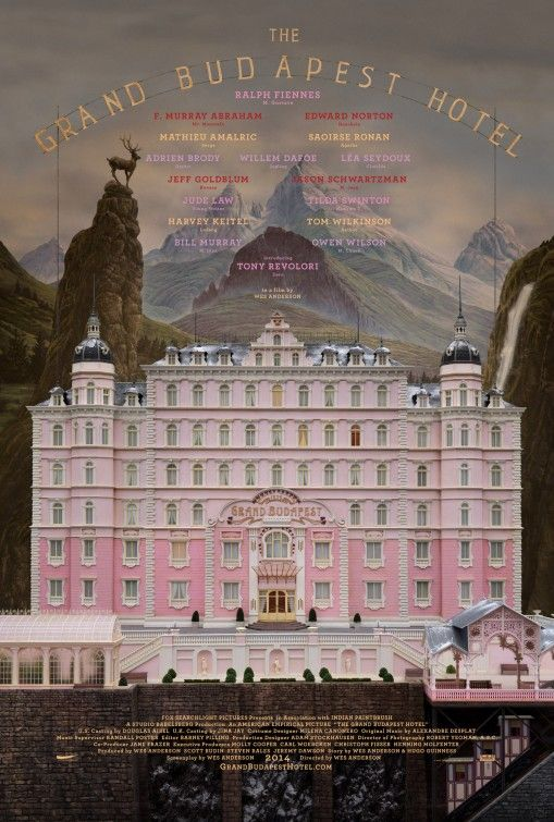 """""""The Grand Budapest Hotel"""" (2014)_poster"""