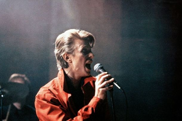 CHRISTIANE F., David Bowie, 1981. Credit: New World Pictures/Everett Collection