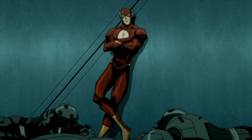 """E Justin Chambers - o Dr. Alex de """"Grey's Anatomy"""" - também dá uma boa interpretação enquanto Flash."""