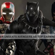 Black Panther Unseats Avengers as Top Earning Super Hero