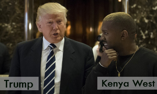Kenya West Backlash After Showing Support For Trump