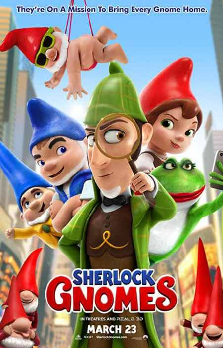 Sherlock Gnomes 2018 Trailer video HD Poster image