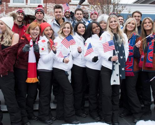 The Bachelor Winter Games hd image