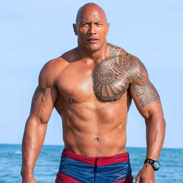The Rock Named By Forbes Highest-Paid Actor hd image
