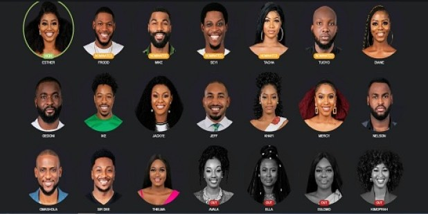 big brother 2019 Second eviction