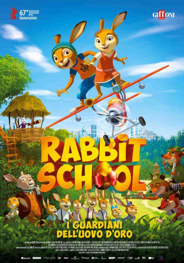 RABBIT SCHOOL – I GUARDIANI DELL'UOVO D'ORO