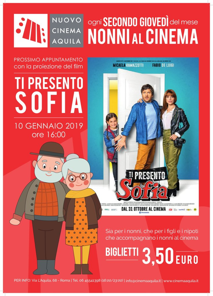 NONNI AL CINEMA