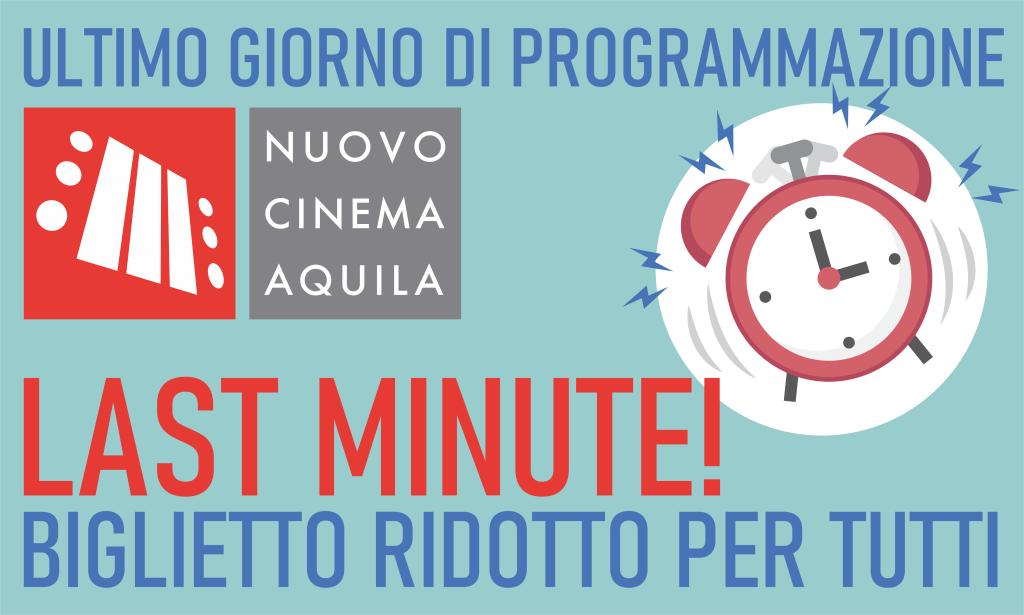 LAST MINUTE – BIGLIETTO RIDOTTO PER TUTTI!
