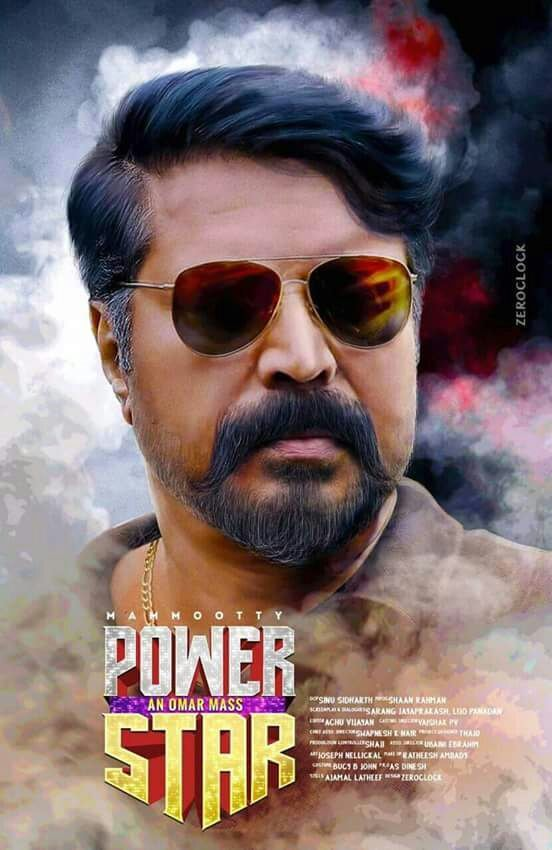 Mammootty in Power Star Fan Made Poster