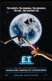 Filmes de Halloween - E.T. o extra terrestre - poster