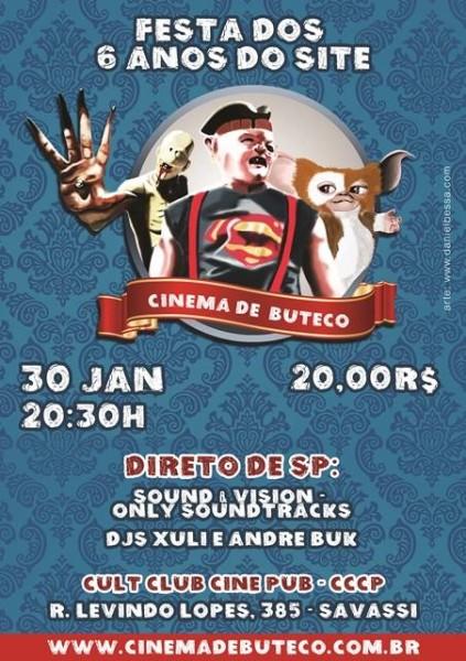 aniversário cinema de buteco