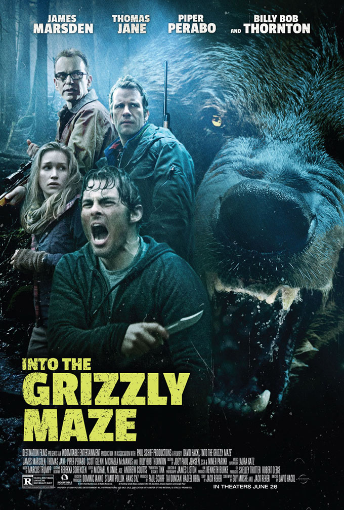 Poster Into the Grizzly Maze