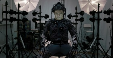 Andy Serkis capturando movimento Star Wars