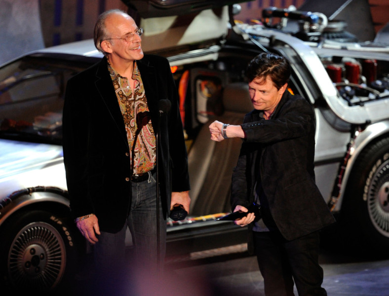 Michael J Fox e Christopher Lloyd
