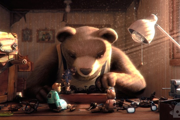 Bear Story - Vencedor Oscar Melhor Curta Animacao