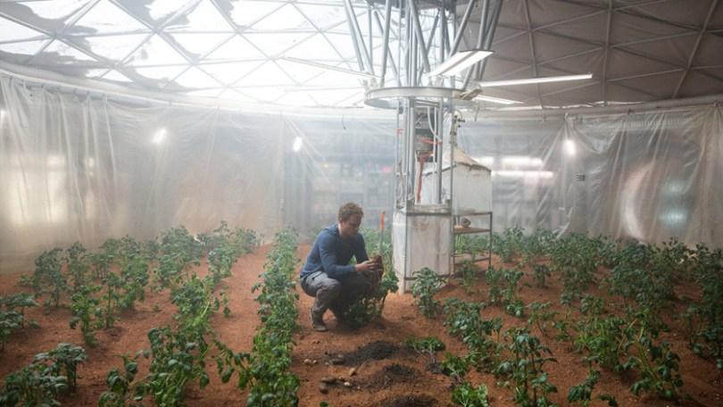 Oscar 2016 - Perdido em Marte